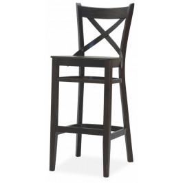 MIKO Barová židle B010-P BAR MASIV