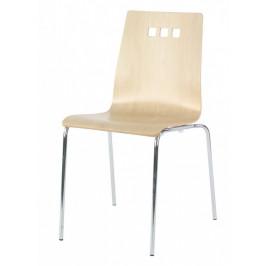 MIKO Židle Mirka podnož chrom