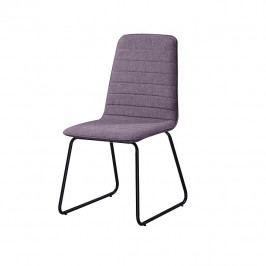 Tempo Kondela Jídelní židle DANUTA - fialová látka
