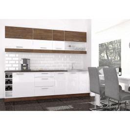 Casarredo Kuchyně MODO 260 vintage marine/bílý lesk