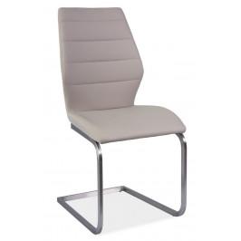 Casarredo Jídelní čalouněná židle KEVIN cappuccino