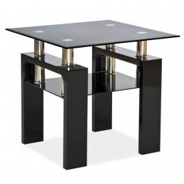 Casarredo Konferenční stolek LISA D černý