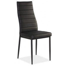 Casarredo Jídelní čalouněná židle H-261C černá