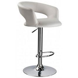 Casarredo Barová židle KROKUS C-328 bílá