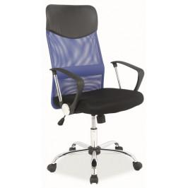 Casarredo Kancelářská židle Q-025 modrá/černá