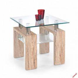 Halmar Konferenční stolek Diana H kwadrat, dub san remo