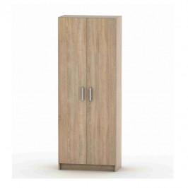 Tempo Kondela 2-dveřová skříň, policová, dub sonoma, BETTY 7 BE07-004-00