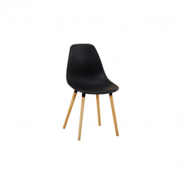 Tempo Kondela Židle KALISA - černá plast / buk