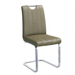 Tempo Kondela Židle Emori TYP 3 - šedohnědá