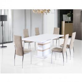 Tempo Kondela Jídelní stůl MADOS - bílá HG