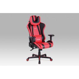 Autronic Kancelářská židle KA-V609 RED