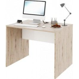 Tempo Kondela PC stůl Rioma TYP 12 - san remo / bílá