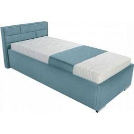 BRW Postel Kate futon  Modrá