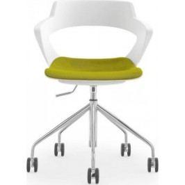 Antares Konferenční židle Aoki ALU 2160 TC - čalouněný pouze sedák