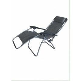 Dimenza Zahradní relaxační lehátko - šedé
