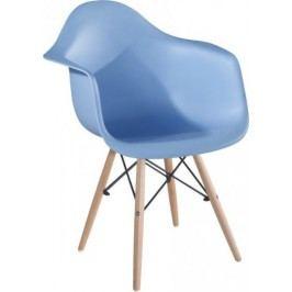 Tempo Kondela Jídelní židle DAMEN - modrá
