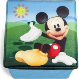 Forclaire Dětský taburet s úložným prostorem Mickey