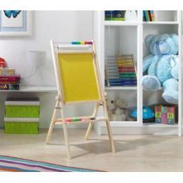 Forclaire Otočná dětská tabule - žlutá