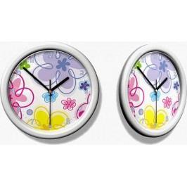 Forclaire Dětské hodiny květy