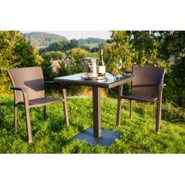 Dimenza Zahradní designový set BARCELONA - hnědý