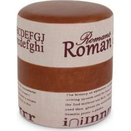 Tempo Kondela Taburetka ROMAN 1 - světle hnědá/béžová