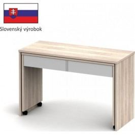 Tempo Kondela PC stůl VERSAL NEW - dub sonoma / bílá