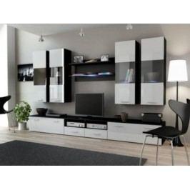 Cama Obývací stěna DREAM I - černá/bílá
