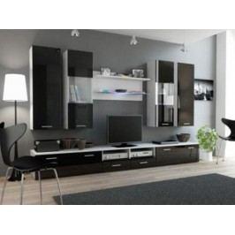 Cama Obývací stěna DREAM II - bílá/černá