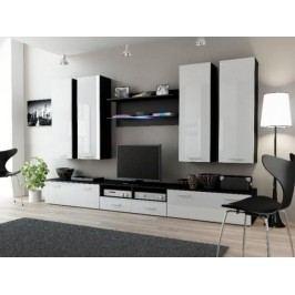Cama Obývací stěna DREAM III - černá/bílá