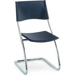 Jídelní židle B161 GRN - Chrom / zelená