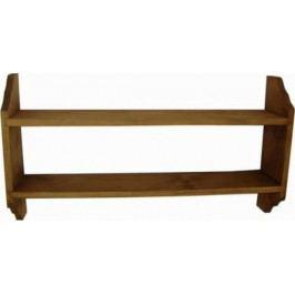 Unis Polička dřevěná závěsná 00900 kód 00902 72x14x40