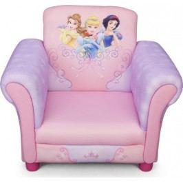 Forclaire Disney dětské čalouněné křesílko Princess