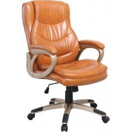 Tempo Kondela Kancelářská židle LANDER - hnědá ekokůže