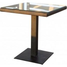 Dimenza Zahradní designový stůl BARCELONA - hnědý