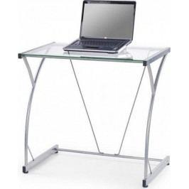 PC stůl B20 - čiré sklo