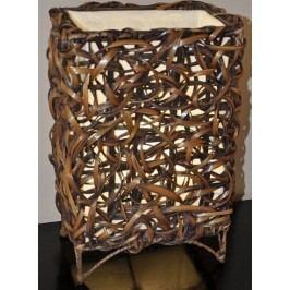 Axin Trading Lampa bambusová malá - rovná (bez žárovek)