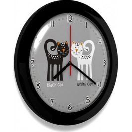 Forclaire Dětské hodiny KOCUR 74 černé