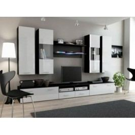 Cama Obývací stěna DREAM II - černá/bílá