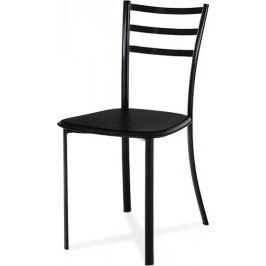 Jídelní židle B801 WT - Koženka bílá
