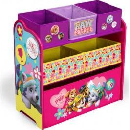 Forclaire Organizér na hračky Tlapková patrola růžová