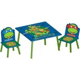 Forclaire Dětský stůl s židlemi Želvy Ninja
