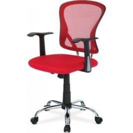 Kancelářská židle KA-N806 RED - Červená + kupón KONDELA10 na okamžitou slevu 10% (kupón uplatníte v košíku)