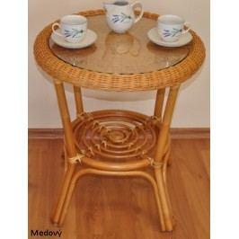 Axin Trading Ratanový stolek Fabion Wicker mix + kupón KONDELA10 na okamžitou slevu 10% (kupón uplatníte v košíku)