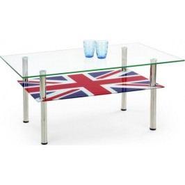 Konferenční stolek Cleopatra Vícebarevný + kupón KONDELA10 na okamžitou slevu 10% (kupón uplatníte v košíku)