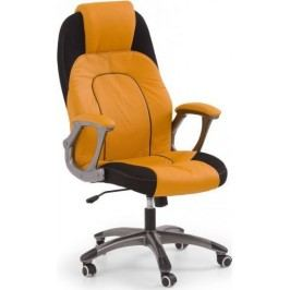 Kancelářské křeslo Viper Oranžová/černá + kupón KONDELA10 na okamžitou slevu 10% (kupón uplatníte v košíku)
