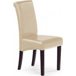 Jídelní židle Nero tmavě hnědá + kupón KONDELA10 na okamžitou slevu 10% (kupón uplatníte v košíku)