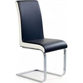 Jídelní židle K103 šedo-bílá + kupón KONDELA10 na okamžitou slevu 10% (kupón uplatníte v košíku)
