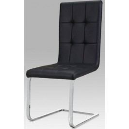 Jídelní židle DCL-103 WT - bílá koženka + kupón KONDELA10 na okamžitou slevu 10% (kupón uplatníte v košíku)