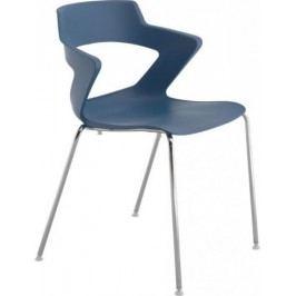 Antares Konferenční židle 2160 PC Aoki - nečalouněná Bílá + kupón KONDELA10 na okamžitou slevu 10% (kupón uplatníte v košíku)