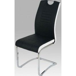 Jídelní židle DCL-406 LIM - limetková/bílé boky + kupón KONDELA10 na okamžitou slevu 10% (kupón uplatníte v košíku)